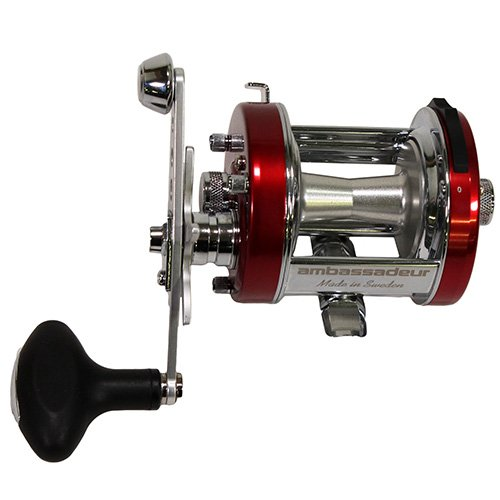 Abu Garcia 1129943 Ambassadeur 6500 C3 CT Mag Hi Speed Reel - 6.3: 1 Gear Ratio, 2+14 Bearings