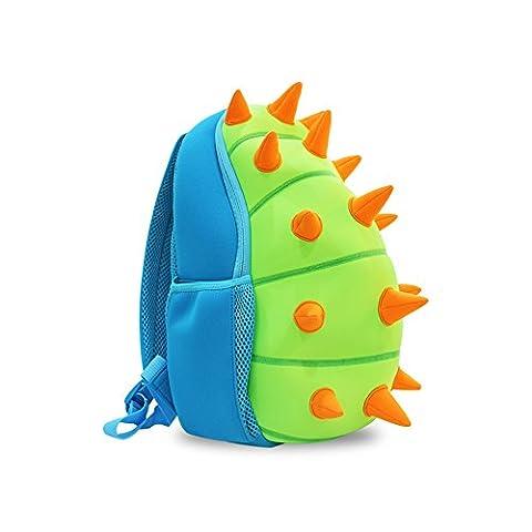 YISIBO Waterproof Kids Backpack 3D Dinosaur Cartoon School Sidesick Bags Toddler Backpacks