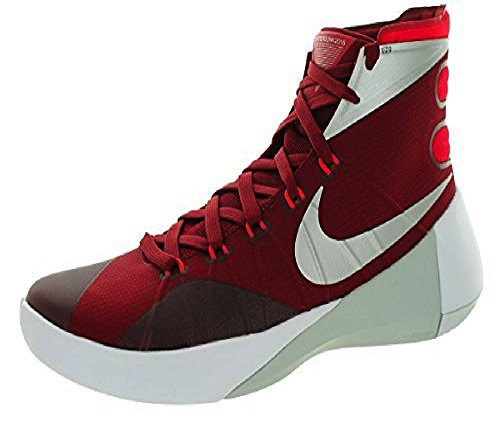 Nike Hyperdunk 2015 Maroon Women's Basketball Sneakers 12 US