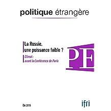 La Russie, une puissance faible ?: Climat : avant la Conférence de Paris (Politique étrangère)