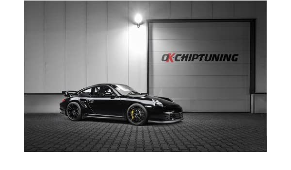 Amazon.com: 2014 Porsche 911 Tg2 By Ok Chiptuning 2 11X17 Photo Poster Banner: Posters & Prints