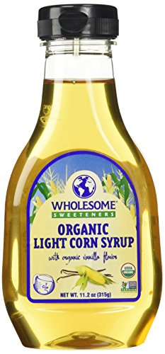 Wholesome Sweeteners Organic Light Corn Syrup, 11.2 oz
