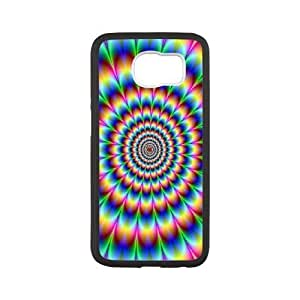 SamSung Galaxy S6 phone cases White Heart Pattern cell phone cases Beautiful gifts JUW80978708