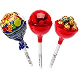 Chupa Chups - Giant Lollipops - With assorted suckers inside - 3 Piece Set (3 Pack)
