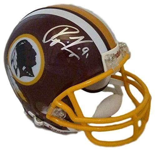Ryan Kerrigan Autographed/Signed Washington Redskins Mini Helmet JSA