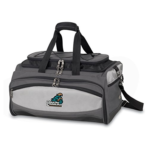 NCAA Coastal Carolina Chanticleers Buccaneer Tailgating Cooler with Grill by PICNIC TIME
