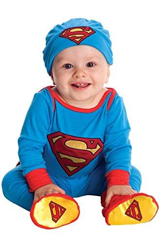 Superman Costume Walmart (DC Super Friends Superman Infant Halloween Costume 6-12m)