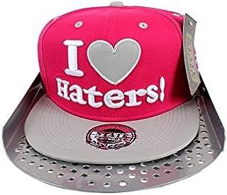 State Property I Love Haters Flat Pvc Peak Baseball Snapback Cap