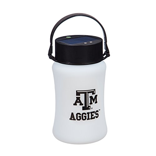 Team Sports America Texas A&M Outdoor Safe Silicone Solar Powered Tailgate Lantern