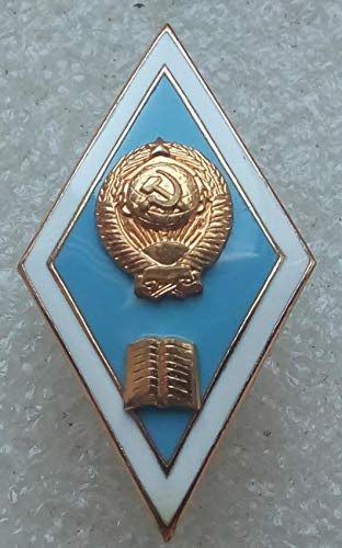 Sign of the end of the pedagogical institute ROMB USSR Soviet Union Russian Historical award boxed LMD