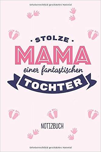 Stolze Mama Einer Fantastischen Tochter A5 Notizbuch Für