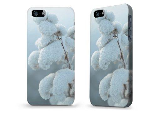"""Hülle / Case / Cover für iPhone 5 und 5s - """"Schneeblume"""""""