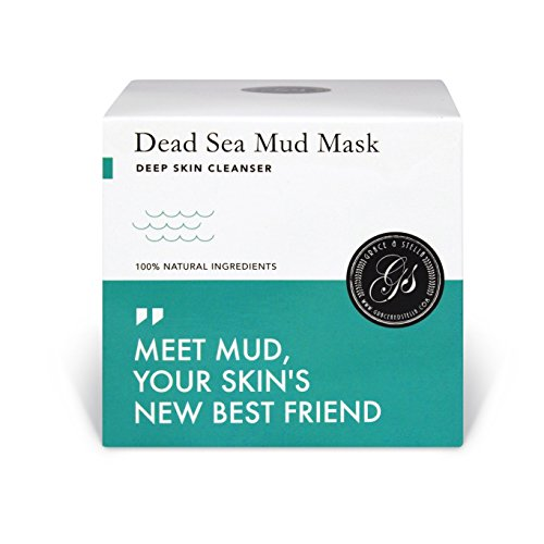 Dead Sea Mud Clay Mask – Purify Toxins & Impurities from Congested, Acne Skin (200g / 7 fl oz)...