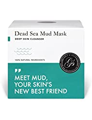 Dead Sea Mud Mask – Purify Toxins & Impurities from Congested, Acne Skin (200g/7 fl. oz.) INCLUDES Sanitary Spatula – Minimize Appearance of Pores, Blemishes & Wrinkles - Gift Idea