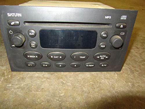 Morad Parts 04 Saturn ION Stereo Recievier Head Unit CD MP3 Single Disc Opt US8 22734832