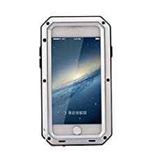 R MAO- Aluminum Metal Case for iPhone 5/5S/SE,[Military Heavy Duty]Waterproof Shock/Dust/Dirt/Snow Proof Gorilla Glass Protection with Touch ID Function