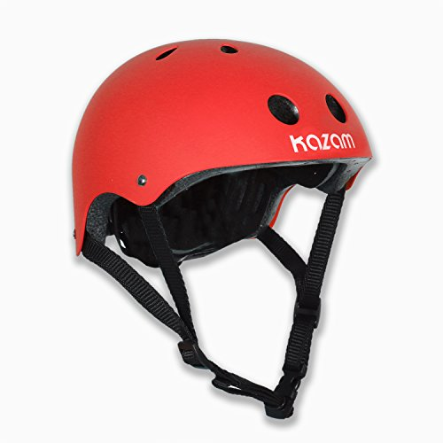 kazam-kids-multi-sport-helmet-red
