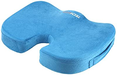 Techege Orthopedic Comfort Foam Grade A Coccyx Tailbone Backpain Comfortable Cushion