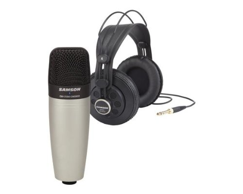 (Samson C01850 C01 Condenser Mic with SR850 Headphones)