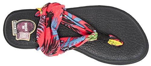 Sanuk Womens Yoga Sling 2 Flip Flop Watermeloen Ananas