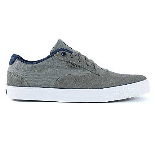 State Footwear - Zapatillas de skateboarding para hombre marrón marrón