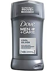Dove Men + Care Antiperspirant Cool Silver 2.7 OZ - Buy Packs and SAVE (Pack of 5)