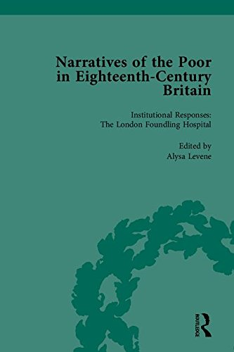 Narratives of the Poor in Eighteenth-century Britain (Volumes 1-5)