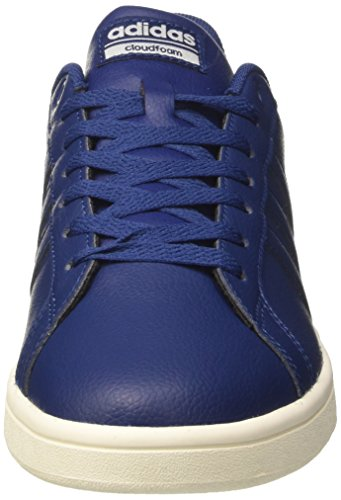 Low Sneakers Advantage Herren adidas Ftwwht Mysblu Blau Cloudfoam Top pPtXq