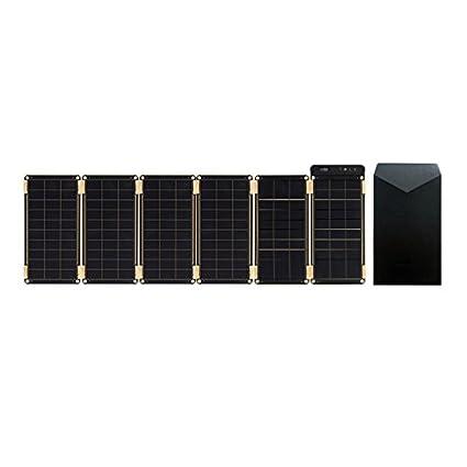 Amazon.com: Papel solar + Bolsa, cargador solar delgado como ...