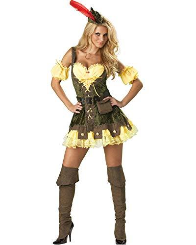 InCharacter Elite Racy Robin Hood Ladies Costume