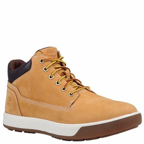 Timberland Men's Tenmile Chukka Boot, Wheat Nubuck, 8.5 M US