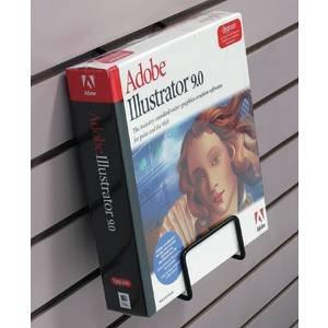 Black Slatwall Literature Holder ()