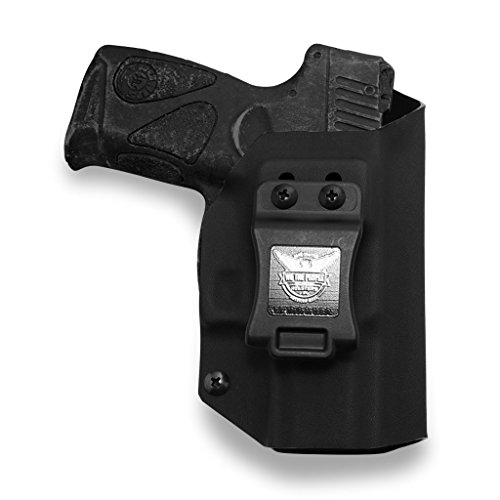 We The People Holsters - Taurus Millenium PT111 G2 / G2C 9MM Compatible IWB Kydex Holster for Concealed Carry