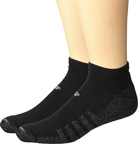 New Balance Coolmax No Show 2-Pair Black XL (Men's Shoe 12-16)