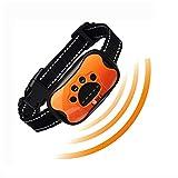 LOVATIC Dog Bark Collar - no Shock Vibration and Sound Humane Training Device for Small Medium Large Dogs - 7 Levels Sensitivity Adjustment - Best no Bark Control Collar