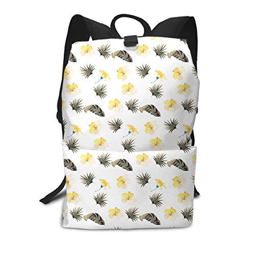 (Tropical Mosaic Seamless Pattern Mini Cute Lightweight Women Themed Mini Bookbag Teens School Backpack Bookbags College Bags Satchel Travel Book Bag Daypack)