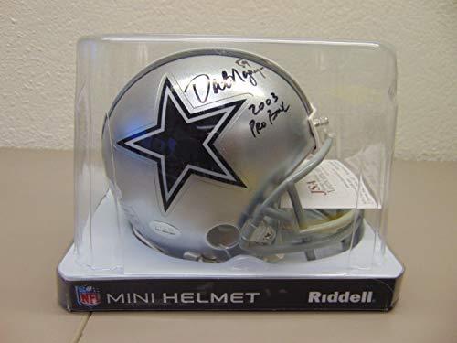 Dat Ngyuen Autographed Signed Dallas Cowboys 2003 Pro Bowl Mini Football Helmet W/Jsa Coa