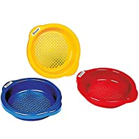 Spielstabil Small Sand Sieve - Sold Individually - Colors Vary (Made in Germany)