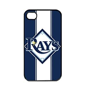 iphone covers MLB Major League Baseball Tampa Bay Rays Apple Iphone 5 5s TPU Soft Black or White case (Black)