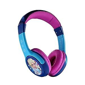 Disney Frozen Stereo Wired Headphones Headset Adjustable Earphone by Volcano