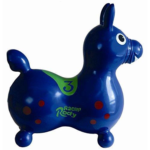 Racin' Rody Horse in Blue, Kids Rocker by Gymnic