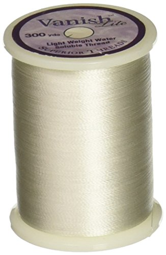 Superior Threads VANLITE Vanish Lite Water Soluble Thread, 300 yd