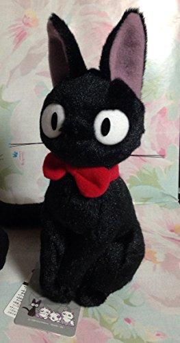 「Kiki's Delivery Service」 Stuffed animal Good friend Zizi S saize /Japanease anime movie by Studio GIBURI