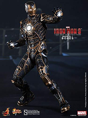Iron Man 3 Movie Masterpiece Iron Man Mark 41 Bones 1/6 Collectible Figure (Hot Toys)