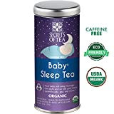Baby Sleep Tea – Digestive & Colic Prevention Herbal Tea – Soothes Acid Reflux & Newborn Tummy Digestion – Calming, Safe & Healthy Colic Relief Tea – Promotes Better Sleep – 20 Count