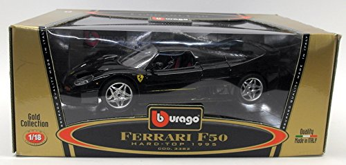 (Ferrari F50 Hard Top 1995 1:18 Metalic Silver)