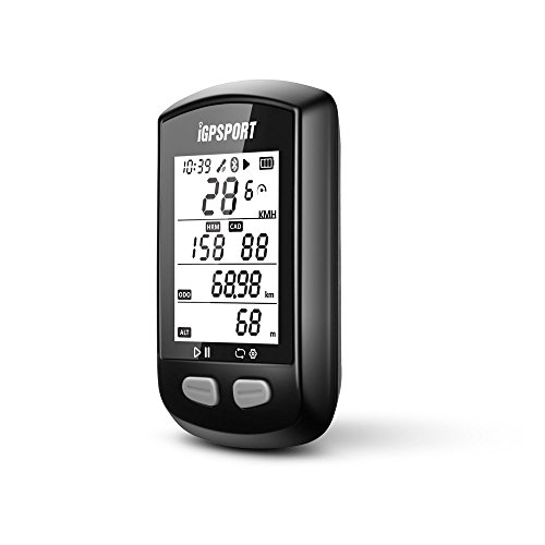 GPS Bike Computer with ANT+ Function iGPSPORT iGS10 Cycling Computer Support Heart Rate Monitor and Speed Cadence Sensor Connection by IGPSPORT (Image #2)