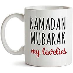 Arabic Gifts - Eid Gifts - Ramadan Mug - Ramadan Mubarak my Lovelies - Islamic gifts - Ramadan Gifts - Islamic Mug