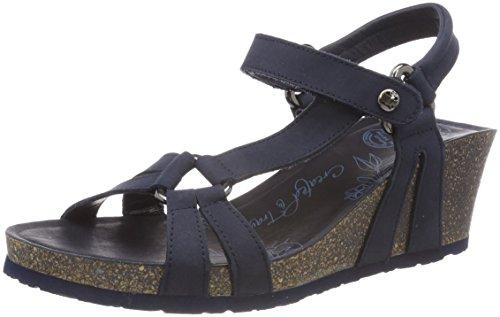 Marino Violetta Basics Open Blue Sandals Toe Panama Women's B4 Jack PwRRO