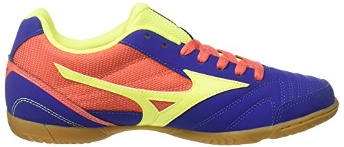 latest collections Mizuno Men's Sala Club in Football Boots Multicolour (Surftheweb/Syellow/Hcora 001) Cheapest cheap price sMFkVss49